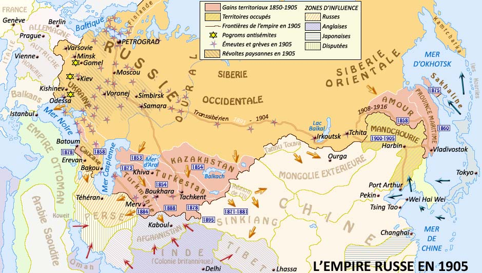 Tsarist Russia Map.From Tsarist Russia To The 1917 Revolution And The Repudiation Of Debt