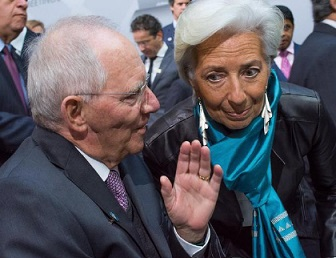 « Doc Schäuble » et Christine Lagarde